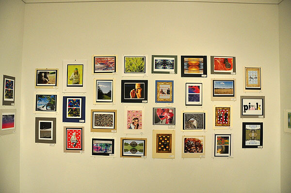 """Scenes from the 21st annual """"Student Art Festival Part II"""" at Guild Hall in East Hampton. MICHELLE TRAURING"""