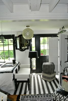 Iris Zonlight's room at the ARF Designer Show House.  DANA SHAW