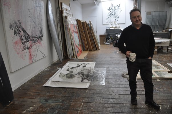 Artist Steve Miller has launched a line of surfboards, clothing and even art books that complement his large-scale work. MICHELLE TRAURING