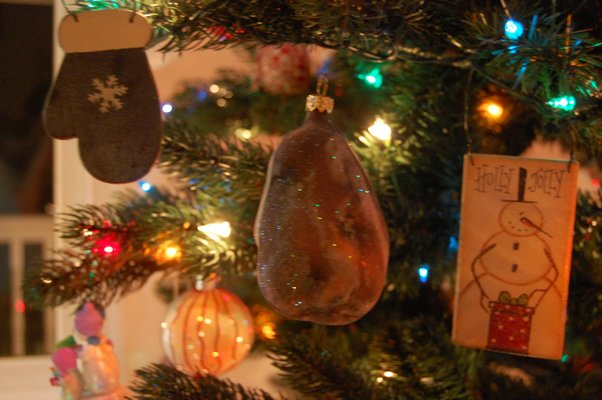 Potato ornaments at Ms. Froehlich's home in Sag Harbor. ERICA THOMPSON