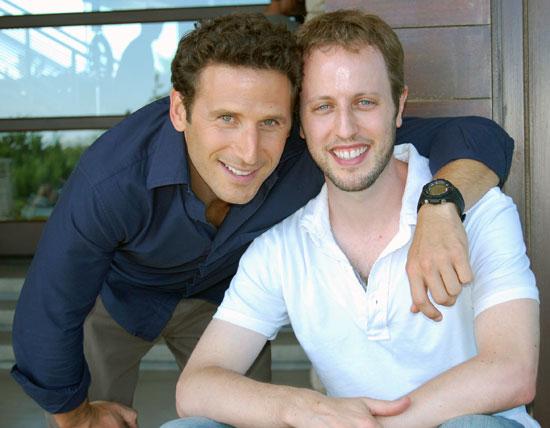 Mark Feuerstein and writer Andrew Lenchewski.