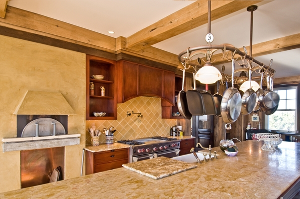 Homeowners should mention special amenities, such as a brick oven, when showing their property to prospective summer tenants.