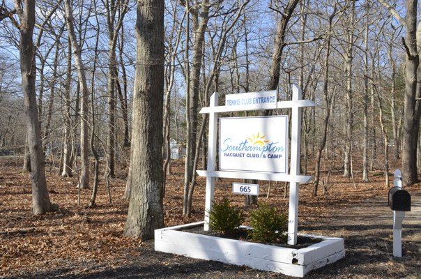The owner of the Southampton Raquet Club and Camp has an application before the Southampton Town Zoning Board of Appeals to change the tennis camp to a day camp. GREG WEHNER