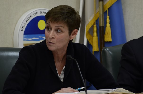 Southampton Town Board member Julie Lofstad introduced the bill to place a ban on plastic straws and polystyrene products. GREG WEHNER
