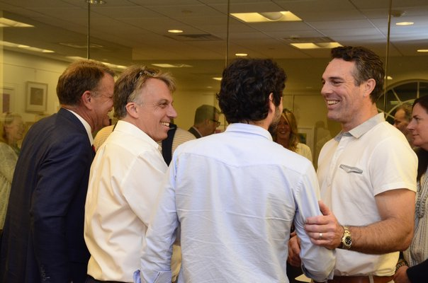 Left to Right: Andrew Pilaro, Jesse Warren and Mark Parash