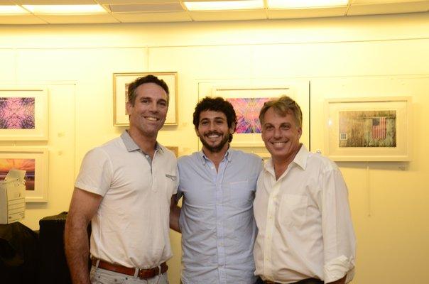 Left to right: Mark Parash, Jesse Warren and Andrew Pilaro GREG WEHNER