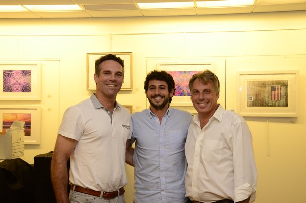 Left to right: Mark Parash, Jesse Warren