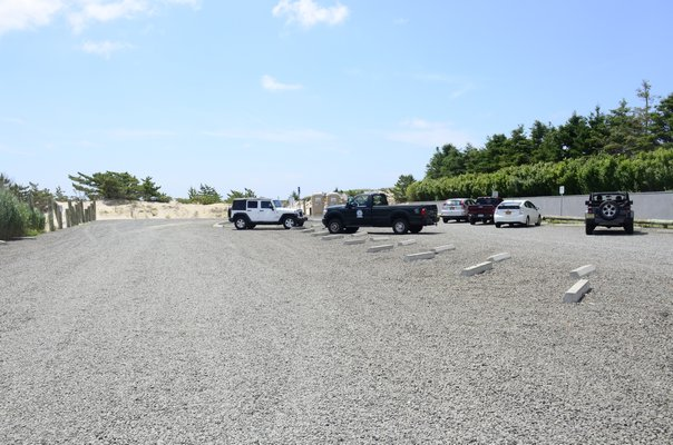 The drive-on access at the helicopter pad parking lot leads to the Picnic Area, which is currently closed to four-wheel-drive vehicles. GREG WEHNER