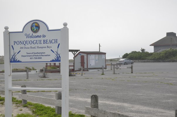 The cost of revitalizing the Ponquogue Beach pavilion in Hampton Bays has nearly doubled since it was originally proposed. GREG WEHNER