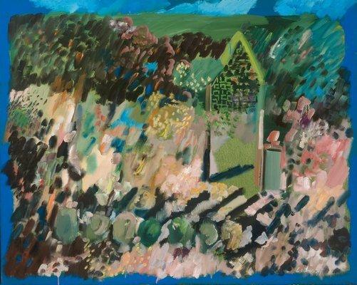 """Gerson Leiber's """"Garden Shadows."""""""
