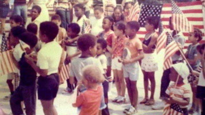 Party in Sag Harbor circa 1960.  COURTESY JOHN PICKENS