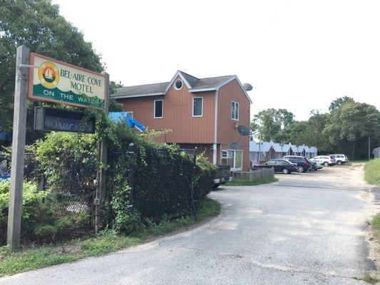 The Bel-Aire Cove Motel in Hampton Bays.