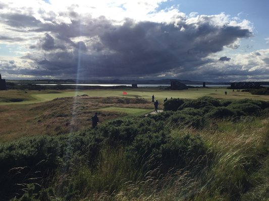 The course at St. Andrews. MARSHALL WATSON