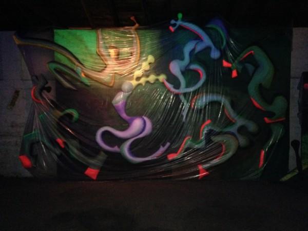 Nova's Glo in the dark art!!!!