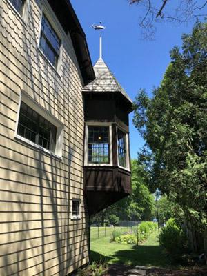 Moran House turret. ANNE SURCHIN