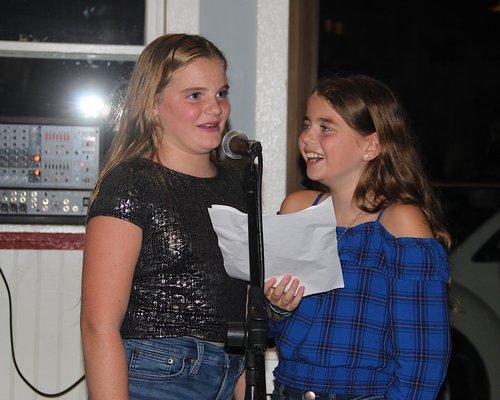 Caroline McGuire and Annie Farnam. KYRIL BROMLEY