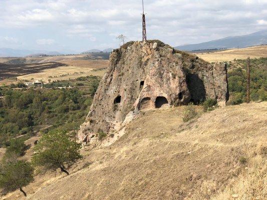 Famous cave village at Khndzoresk ANNE SURCHIN