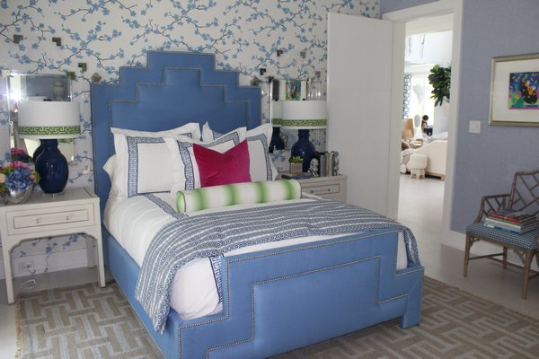 The junior master suite, curated by IBB Design for CR Laine. JULIA HALSEY