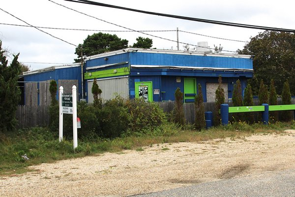The former Cyril's Fish House at 2167 Montauk Hwy in Montauk. KYRIL BROMLEY