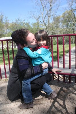 Crystal Mannoia, with daughter Danica, at Head Start in Bridgehampton. BY ROHMA ABBAS