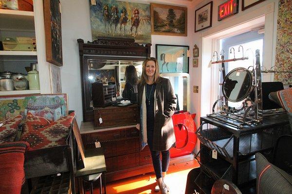 Erica Brobreg Smith has opened The Hampton Gather in East Hampton. KYRIL BROMLEY