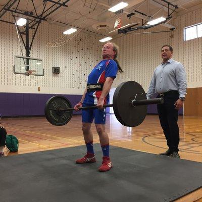 The Special Olympics at Hampton Bays High School on Sunday.