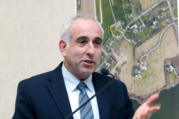 Southampton Town Supervisor Jay Schneiderman.
