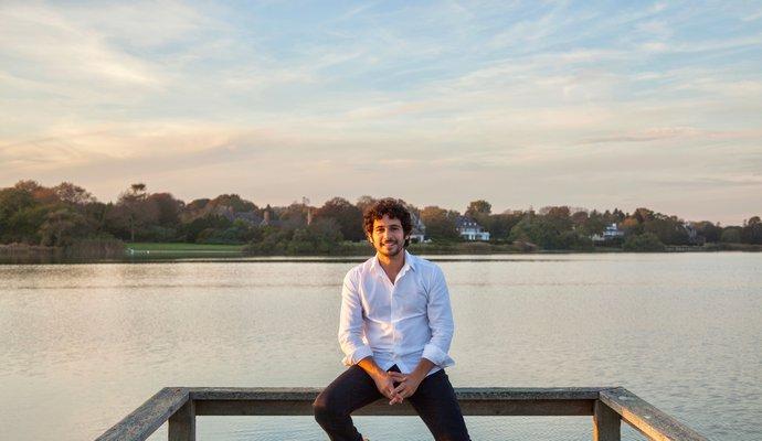 Jesse Warren is running for Southampton Village Mayor. COURTESY JESSE WARREN