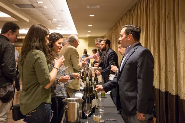 The Long Island Wine Council's Spring Portfolio Tasting. BRIDGET ELKIN