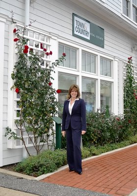 Former Southampton Town Supervisor Linda Kabot joins Town & Country's Southampton office. COURTESY TOWN & COUNTRY