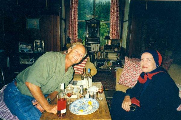 Bouvier Beale with Little Edie. COURTESY EVA AND BOUVIER BEALE COURTESY EVA AND BOUVIER BEALE