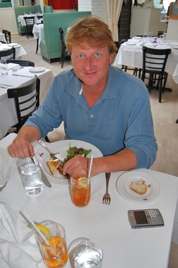 Roy Dalene at Pierre's in Bridgehampton.