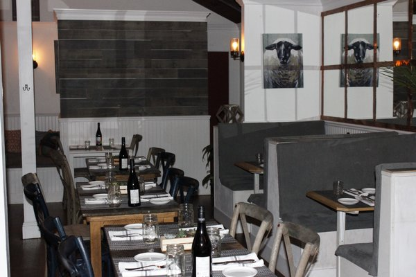 The dining room seats up to 64 guests. VALERIE GORDON