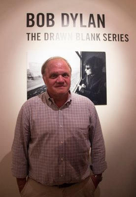Mark Borghi was approched to present Bob Dylan's 'The Drawn Blank Series' exhibition at his gallery in  Bridgehampton as part of their annual July 4th weekend kickoff event. MAGGY KILROY