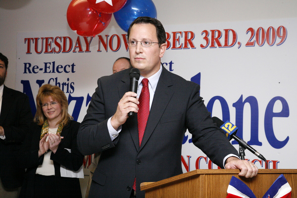Southampton Town Councilman Chris Nuzzi had a successful bid for reelection