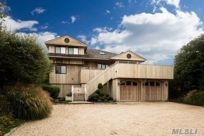 The home at 545 Dune Rd in Westhampton sold for $3,024,500. COURTESY MLSLI