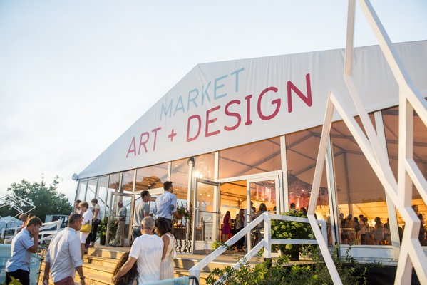 The front of the pavilion during last year's Market Art + Design.