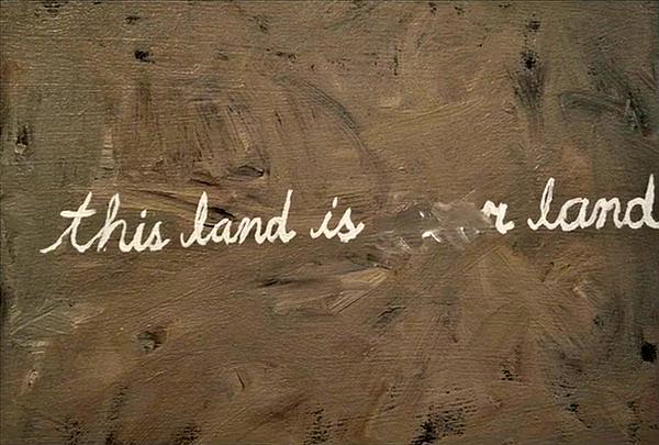 "A still from ""This Land is Your Land"" by Jason Mitcham. JASON MITCHAM"