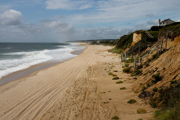 A request for a Temporary Restraining Order on the Montauk Shoreline Stabilization Project has been denied by a federal judge. KYRIL BROMLEY