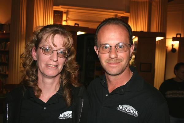 Dan and Joyce Martinez of NYGHT