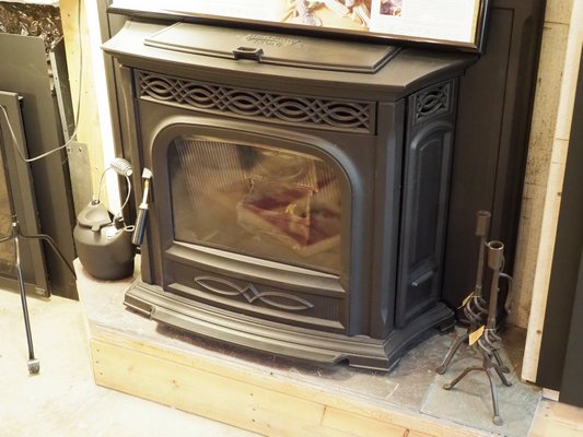 If cordwood is an issue and you have a fireplace, this pellet stove insert can be your ticket. It can be customized for various fireplace sizes. ANDREW MESSINGER