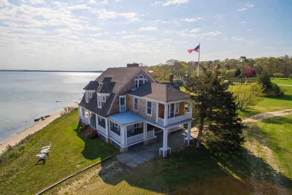 Shorebluff, in Hampton Bays, was used in a couple Hollywood movies, and just recently went on the market.