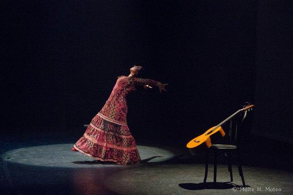 Flamenco dancer Sonia Olla