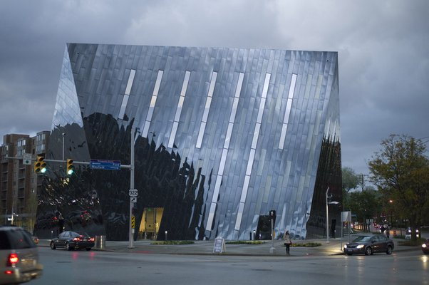 Architect Farshid Moussavi's Museum of Modern Art Cleveland is an icon. STEPHEN GILL