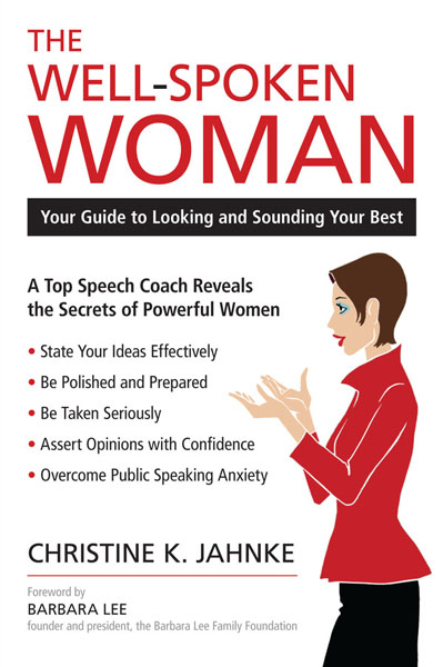 """The Well-Spoken Woman"" by Christine Jahnke. COURTESY CHRISTINE JAHNKE"