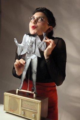 Yael Rasooly, the creator and star of 'Paper Cut.' BOAZ ZIPPOR