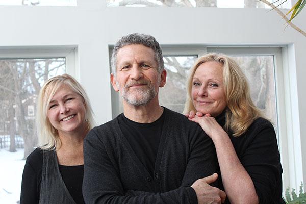 Barbara Barrielle, photographer Steven Rothfeld and cookbook author Hillary Davis. ANNETTE HINKLE