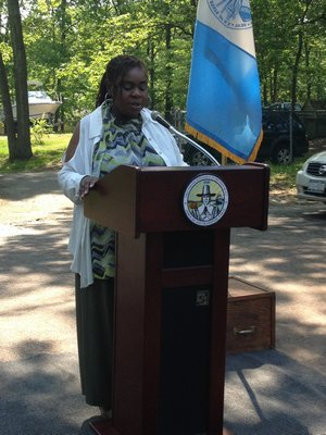 Michelle Cannon, chairperson of the Southampton Housing Authority. BY CAROL MORAN