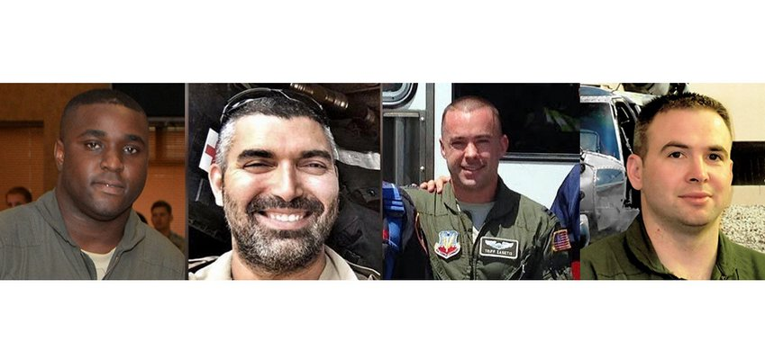 Staff Sgt. Dashan Briggs, Master Sgt. Christopher Raguso, Capt. Christopher Zanetis and Capt. Andreas O'Keeffe have been identified as the four New York Air National Guard members assigned to the 106th Rescue Wing, stationed in Westhampton Beach, who died in Iraq on Thursday.