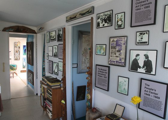 Inside the D'Amico house. KYRIL BROMLEY